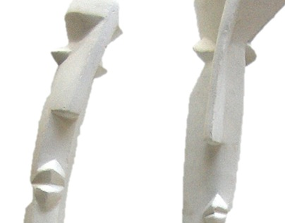 3D LINE 202. Stone, wood, iron