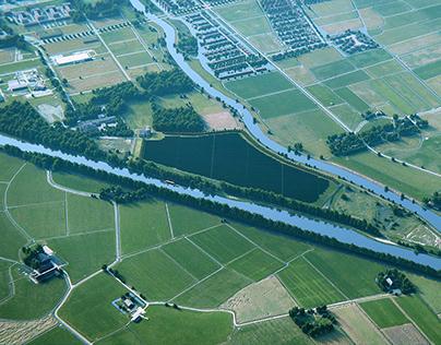 Visual impact assessment -solar farm visualizations