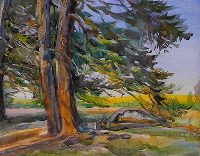 Watercolor Plein Air - Utah_Till 2017