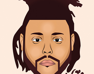Abel Tesfaye (The Weeknd) Illustration