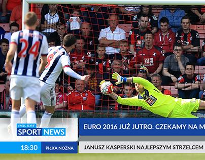 Grafika ekranowa dla Polsat Sport News (propozycja)
