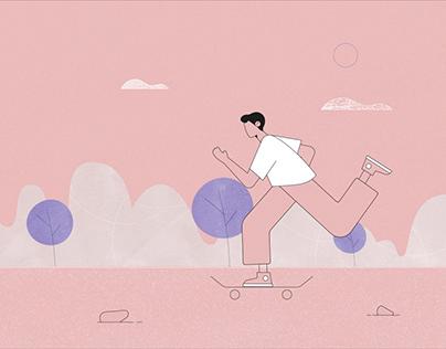 Motion Training #3 - Skateboy
