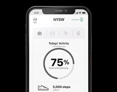 Hybrid Watch App UX/UI Design