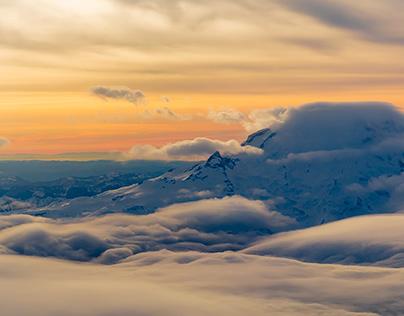 Mt. Rainier Fly-by