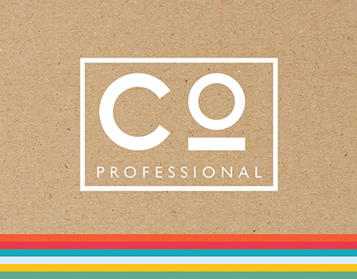 CO PROFESSIONAL Packing & Brand Idenity '2019