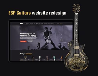 ESP Guitars redesign