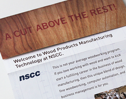 NSCC Wood Products Tech Brochure