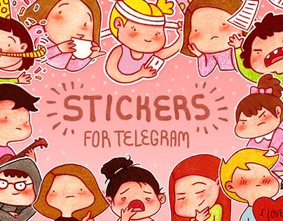 STICKER PACK for Telegram