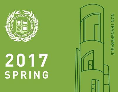 2016-2017 CSULB Student Parking Permit Design