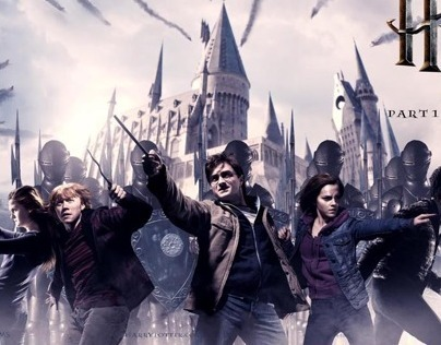 Harry Potter and the Deathly Hallows finishing