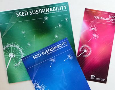 Seed sustainability, Konzept, Illustration, Layout