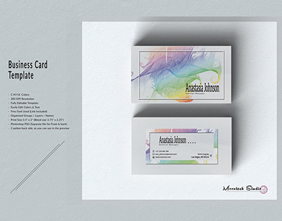 Business Card Template#14
