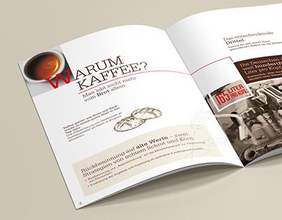 Segafredo bakery brochure