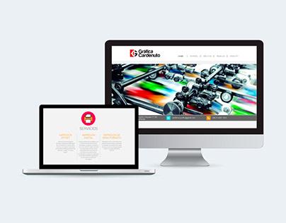 Diseño de web para Gráfica