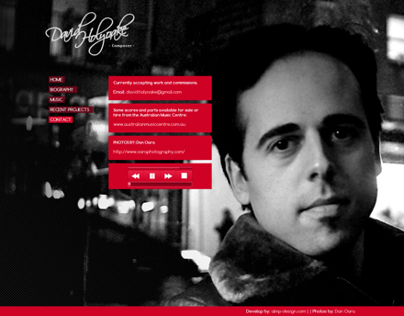 David Holyoake Composer | Home page