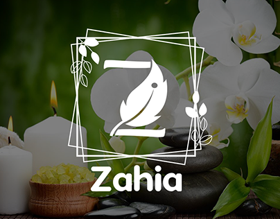 Zahia Logo for Organic Cosmetics