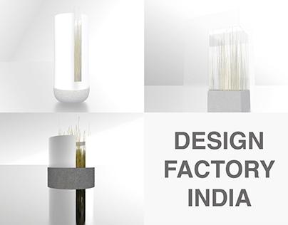 Ring vase - Internship for Design Factory India