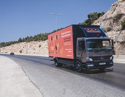Amman Design Week 17 - Mobile MakerSpace Truck Branding