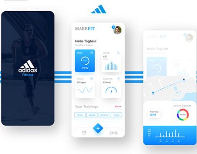 Adidas Fitness App