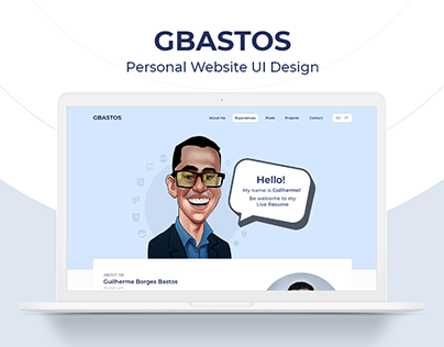 Personal Website UI Design