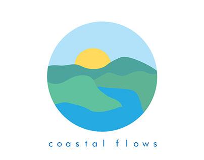 Coastal Flows logo image-