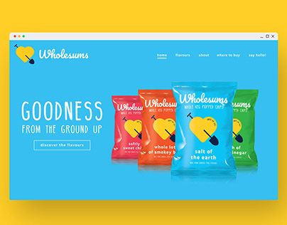 Wholesums Website Design
