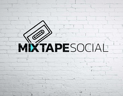 Logo redesign: Mixtape Social
