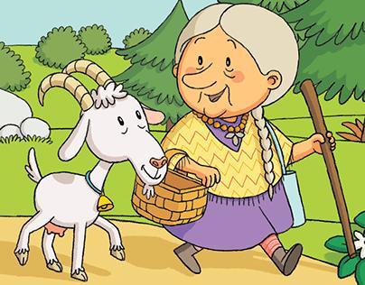 Children's book illustrations, part 6
