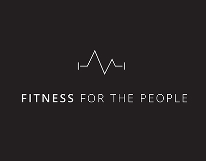 Fitness for the People - Logo & Business Card Design
