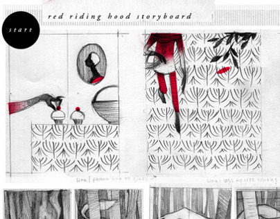 Red Riding Hood Storyboard