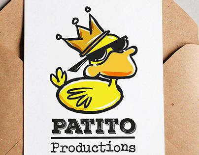 Patito Productions Logo design