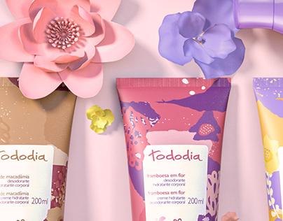 Packaging 3D Tododia Natura