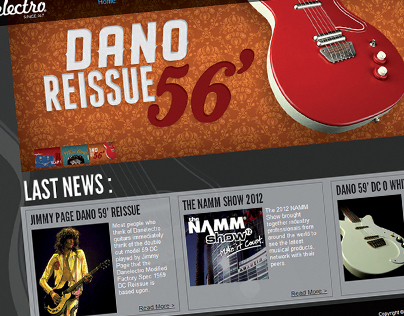 Danelectro - Website