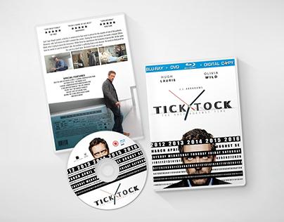 Tick Tock - Movie Poster - DVD/CD Cover - Design