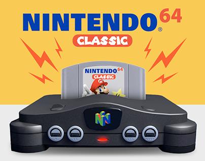 Nintendo 64 Mini Console Concept