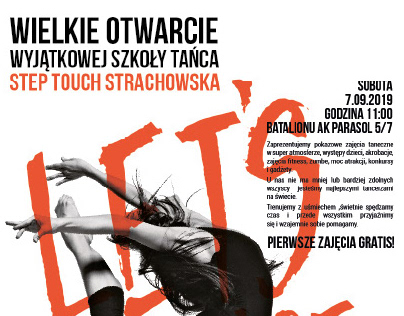 Posters for Step Touch Dance School