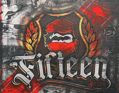 Winners 2005 Fifteen - 2021 Stickers