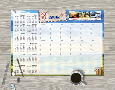 Set of table planners
