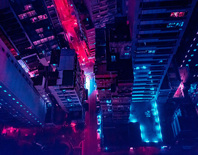 Hong Kong -Neon-