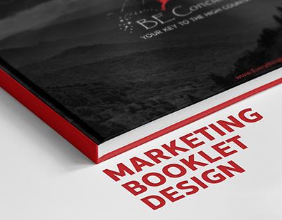 Marketing Booklet Design
