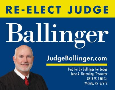 Re-Elect Judge Ballinger