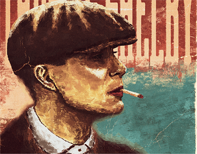 Thomas Shelby - illustration