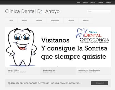 Sitio Web para Consultorio Dental