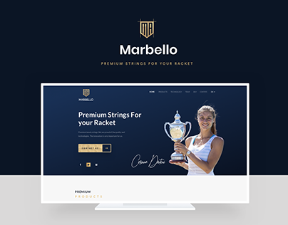 Marbello | Official Website Redesign UI/UX
