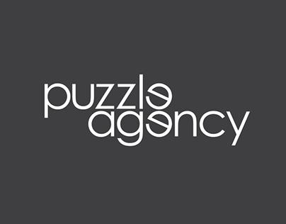 Puzzle Agency || logo&branding concept