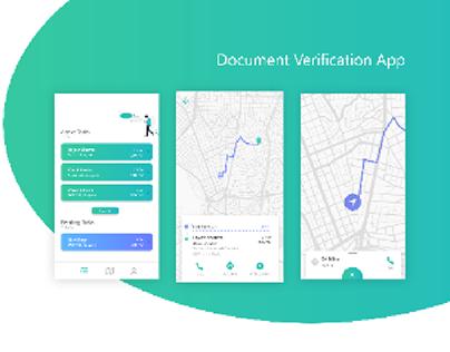Document verification app