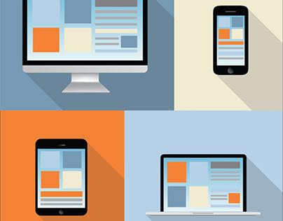 Design UI Mobile & webapps responsive Assurance Finance