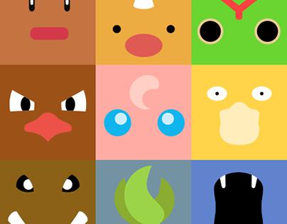 Minimal Pokémon [1-57]