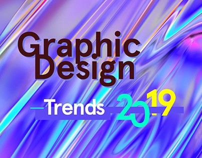 2019 Graphic design trends