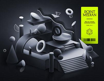 Point Median - Cover Vinyle
